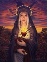 Our Lady of Sorrows 2013 Redux by Sobii