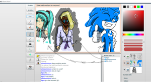 iScribble drawings -1- by MeiTakahashi