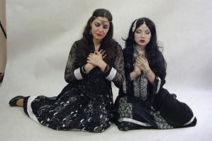 STOCK - Gothic Sisters by Apsara-Art
