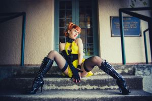 The Silk Spectre by FloksyLocksy