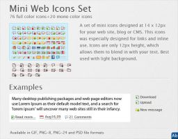 Mini Web Icons by DarkoAb