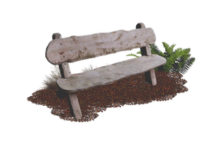 Wooden Bench PNG.. by AledJonesStockNArt