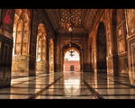 Inside of Royal Mosque by faizan47