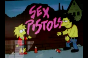 The simpsons - sex pistols by OutsiderGirl95