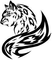 Tribalize snow leopard by Sephiroth-Strife