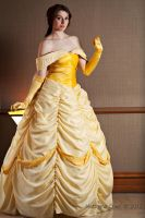 Belle cosplay by Athora-x