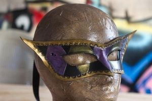 Handmade Masquerade Leather Mask by OsborneArts