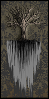 Funny Little Gothic Tree by mallornleaf