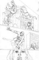 Peter Parker Practice page 6 by tomographiser