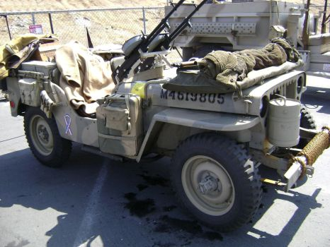 Willys Army Jeep WWII Korea by Partywave