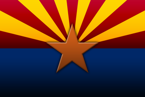 Arizona Flag by HATE-LOVE-FEAR-ANGER