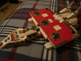 Lego Battle Cruiser by Taggerung1
