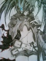 black rock shooter by 3nViixx