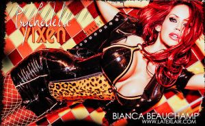 Psychedelic Vixen: Bianca Beauchamp by UniqueOneDesigns