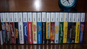 My DS Games by FallenWarriorRoxas