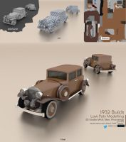 1932 Buick : Low Poly Modelling by themt