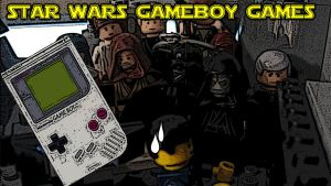 03 Star Wars Gameboy Games Title Card by Digger318