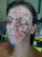 Prosthetic Make-up effects by atongwali