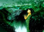 Fairy of the Moss by Laudano