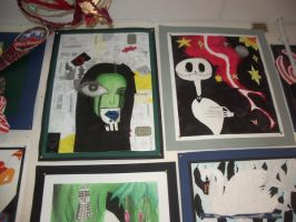 GCSE art: Shopping and songs by LithiumAlchemist