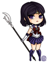 Sailor Saturn by LostAdopt