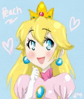 Princess Peach++ by Kevin11s-girl