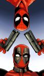 Deadpool and Spidey by MarieKozh