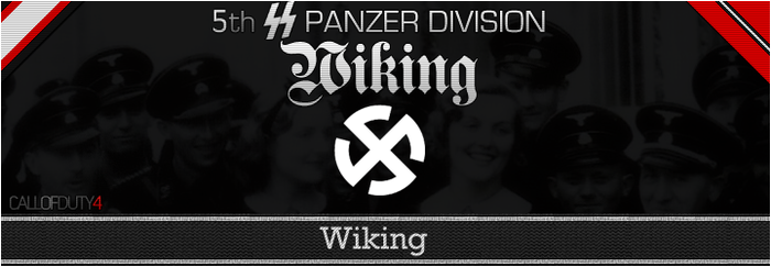 5th SS Wiking Website Banner by Obergruppenfuhrer