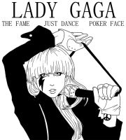 LADY GAGA -- THE FAME by MymyArtzone