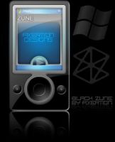 Black Zune by Axertion