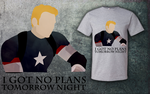Captain America (I Got No Plans Tomorrow night) by L4nd0