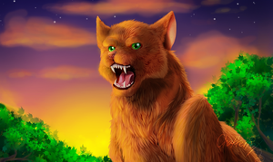 I am the leader of Thunderclan by ChatterFox