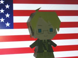 america paper craft by comics-art-girl