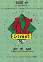 42nd Street Poster by legley