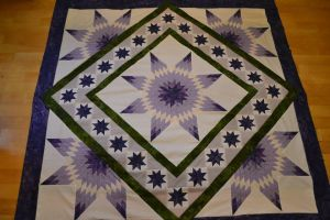 celestial garden not quilted by DottieB