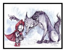 Le Petit Chaperon Rouge by cpn-blowfish