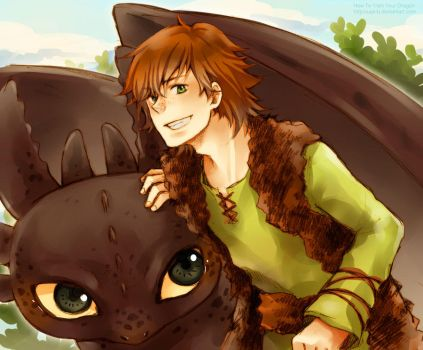 How To Train Your Dragon by kanapy-art