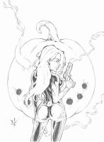 Lauren Order - Halloween sketch by terminARTor