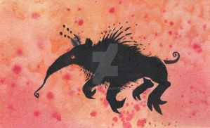 Demon Ant Eater by Allaeysis