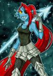 Undyne by Kehmy