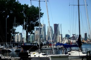 Toronto through the masts by serge300d