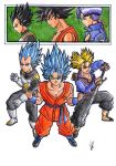 Tres super saiyans by greatpunch10
