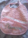 Bib for a baby girl! by PrincesseDeLamballe