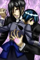 Sebastian and Ciel by BlueberrySeduction
