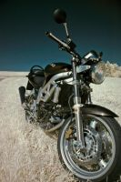 suzuki sv650 in  infrared no3 by Tschisi