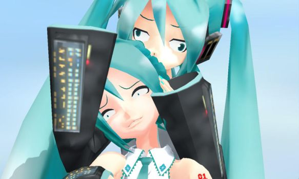 MMD Your Hair Smells Guud by Aisuchuu