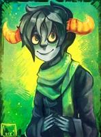 Fantroll Request: Raines Lockat by AgentCorrina