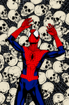 Spider Man Cover 158 By SteveMcNiven By DexterVine by carloscamposart