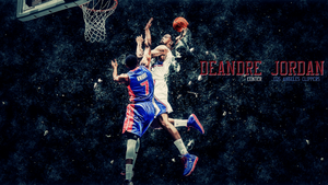 Deandre Jordan Dunk wallpaper by chronoxiong