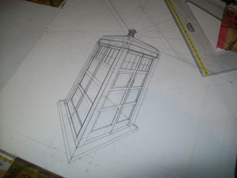 Perspective of a Tardis by luxa-Layton